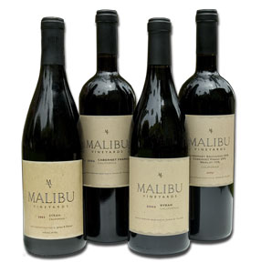 MAlibu Vineyards wine